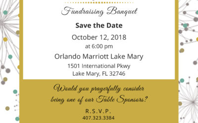 RSVP for our Fundraising Banquet